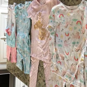 Lot of Four Carters Jammie's